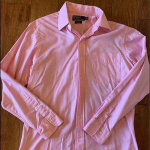 Men's polo button up shirt